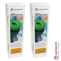2 x Carbonit GFP Premium Filterpatrone Wasserfilter für u.a. Sanuno Vario