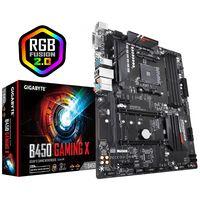 Gigabyte B450 Gaming X - AMD - Buchse AM4 - AMD Ryzen - DDR4-SDRAM - DIMM - 2133,2400,2667,2933 MHz