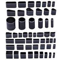 52 Stück Lochstanzer Ein Loch Stanzgerät Werkzeug für Leder, verschiedene Stile