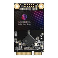 Gamerking Solid State Drives Festplatte 500GB Msata SATA Ngff Internes Hochleistungs-SSD 6Gbit/s for Laptop, PC.