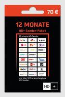 HD+ Karte-Verlängerung für 12 Monate HD TV Empfang HD Plus Sender für HD 01 02 03 04 Karten