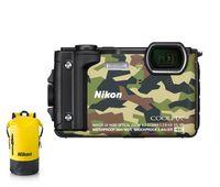 Coolpix W300 camouflage Holiday Kit Digital-Kompaktkamera mit Rucksack