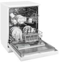 Exquisit GSP 6012 Stand-Geschirrspüler | 12 Maßgedecke | 3 Programme | Aquastop nachrüstbar | Weiß