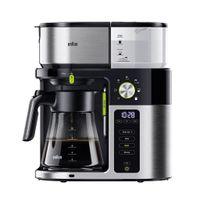 Braun KF 9050 BK MultiServe 0X13211043, schwarz/edelstahl Filterkaffeemaschine