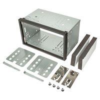 2DIN Doppel DIN Metal Rahmen Einbauschacht Radioblende Einbausatz Einbaurahmen