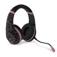Stereo Gaming Headset - Rose Gold Edition - Abstract Black
