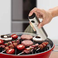 Edelstahl Öl Spray Ölsprühgerät Olivenölspender Ölsprüher für Barbecue, Kochen