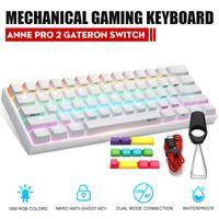 ANNE PRO 2 PBT Keycap Gateron-Schalter 61 Key Mechanische Gaming-Tastatur