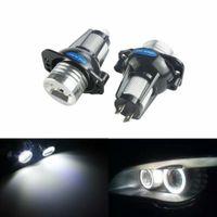 12W  LED Standlicht Ringe Angel Eyes Marker Frontscheinwerfer für BMW E90 E91 2005-2008