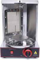 1500W Vertikaler Grill Elektrischer Rotisserie-GrillDönergrill Edelstahl Spinnen Döner Kebab Gyro Grill Maschine