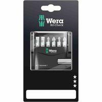 Wera 050-73406001 Bit-Satz Mini Check, silber