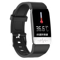 Smart Armband Smart Armband Smart Watch Multifunktions-EKG + Temperaturerkennung Bunter Bildschirm 1,14-Zoll-Nachricht Hinweise
