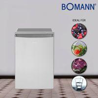Bomann KS 2184.1 Kühlschrank inox-look 120 Liter inkl. 4 Sterne Gefrierfach