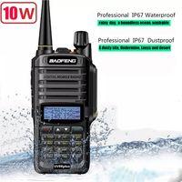 2Pcs Baofeng UV-9R Plus 8W Upgrade-Version Funkgerät UKW UHF Walkie Talkie für CB Ham