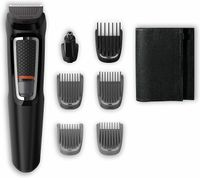 Philips Barbero MG3720/15 7-in-1 Bartschneider mit selbstschärfender Klinge und