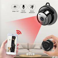 Mini Kamera Schnurlose WiFi-Fernueberwachungskamera HD 1080P Überwachungskameras Sicherheit Kamera