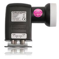 GRUNDIG Quattro LNB  für Multischalter, Full HD, 4K - digitales 4fach-LNB für Satellit-Fernsehen