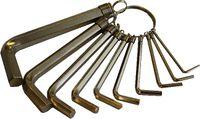 Innensechskantschlüssel Set 10 teilig 1,5-10mm TLF1108 Innensechskant Sechskant