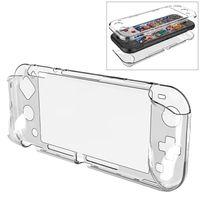 Schutz Tasche TPU für Nintendo Switch Lite Transparent Hülle Case Cover Etui