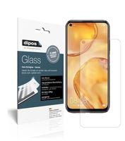 2x Huawei P40 Lite Schutzfolie matt - Anti-Shock 9H Folie dipos Glass