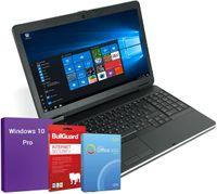 Dell Latitude E6540   Office Notebook 15.6 Zoll HD+ Intel Core i5-4200M@ 2,5 bis 3,1 GHz 4 GB 500 GB HDD BT 4.0 & HDMI, Webcam, GRATIS Windows 10 Pro, BullGuard, SoftMaker Office