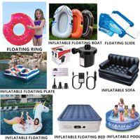 Camping Fußpumpe Luftpumpe für Pool Party Schwimmring Luftmatratze Ballon