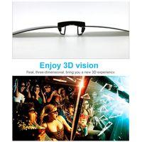 Aufsteckbare 3D-Brille 0,72 mm Dicke fš¹r Myopie Passive zirkular polarisierte 3D-Brille fš¹r 3D-TV-Filmkino ansehen
