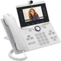 Cisco IP Phone 8865, IP-Telefon, Weiß, Kabelgebundenes Mobilteil, ABS, Tisch/Wand, Digital
