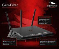 Netgear XR300 Nighthawk Pro Gaming - Dual-Band (2,4 GHz/5 GHz) - Wi-Fi 5 (802.11ac) - 867 Mbit/s - Wi-Fi 5 (802.11ac) - Gigabit Ethernet - IEEE 802.11ac