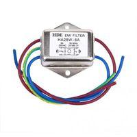 Leistungs EMI Filter HA28W 6A 50 / 60Hz 250V AC