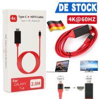 4K@60Hz MHL Type C zu HDMI USB C auf HDMI HDTV TV Kabel Adapter für MacBook Samsung Huawei