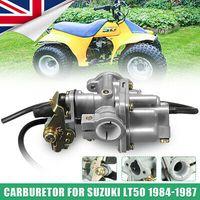 Metall Grau Vergaser Carburetor Für Suzuki LT 50 LT50 ATV Quad Oil 1984-1987