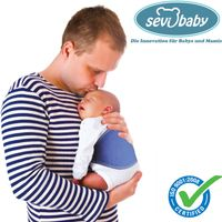 Sevibaby Rückenstütze Baby Trage Rückenschutz Rückenschoner Rückenbandage (212)