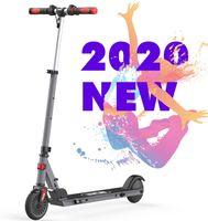 Elektroroller für Kinder, Elektro Scooter Faltbar verstellbar, Geschwindigkeit max 20 km/h, Licht Wasserdicht IP4 reflektierend Aufkleber Rutschfester Lenker