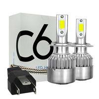 2 Stk H4 36W LED Scheinwerfer Kit Auto Birne Hi-low Abblendlicht 6000K Weiß Xenon