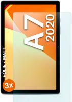 moex® 3x Schutzfolie kompatibel mit Samsung Galaxy Tab A7 - Displayschutzfolie Anti Reflex Folie, Matt