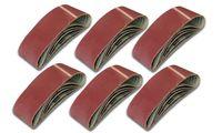 25 Schleifbänder 75x457 Bandschleifer Korn 40- 220 Gewebeband Schleifpapier 120