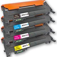 Kompatibel HP 117A BK / W2070A, 117A C / W2070A, 117A M / W2070A, 117A Y / W2070A Sparset 4 Toner mit Chip alle Farben von D&C