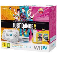 Nintendo Wii U Basic Pack 8GB + Land + Just Dance 2014, Wii U, Weiß, IBM PowerPC, AMD Radeon, Flash, 8 GB