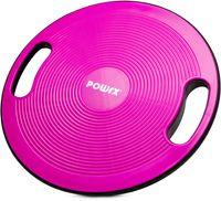 Balance Board | Wackelbrett Ø 40cm mit Griffen | Therapiekreisel Physiotherapie Therapiekreisel - Pink