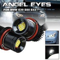 Paar 80W 16LED Standlicht Angel Eyes Halo Standlicht IP65 Für BMW E39 E60 E53
