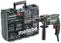 Metabo Bohrmaschine / Schlagbohrmaschine SBE 650 SET 650 Watt