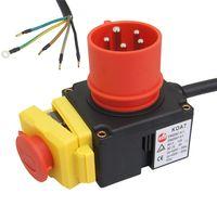 ATIKA Ersatzteil - 400 V Schalter KEDU KOA7 für Spalter ASP 8 N + Phasenwender *NEU*