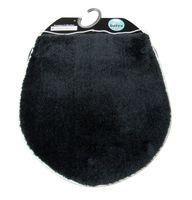 Batex Toilettendeckelbezug  Silencio dunkelgrau 47x51 cm
