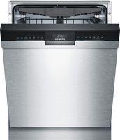 Siemens iQ300 SN43HS60CE, Unterbau, Standardgröße (60 cm), Edelstahl, Schwarz, Berührung, 1,75 m