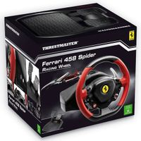 Thrustmaster Ferrari 458 Spider Racing Wheel und Pedale fÃ1/4r Xbox One
