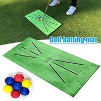 Golfmatte Golf  Training Beats Pad Golf Übungsmatte Grün Golf Trainingsmatte für Swing Detection Batting Golf Übungshilfespiele Golf  Mat