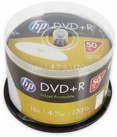 50 HP Rohlinge DVD+R full printable 120Min 4,7GB 16x Spindel