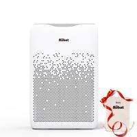 Aiibot Luftreiniger Air Purifier, 4-Stufen-Filterung für 99,97% Filterleistung und Timer, gegen Staub Pollen Tierhaare, für Allergiker Raucher, EPI188