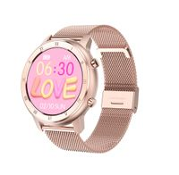 Neue DT89 Mode Smart Watch Sportuhr EKG Herzfrequenz Blutdruck Smartwatch Gold Stahlgürtel